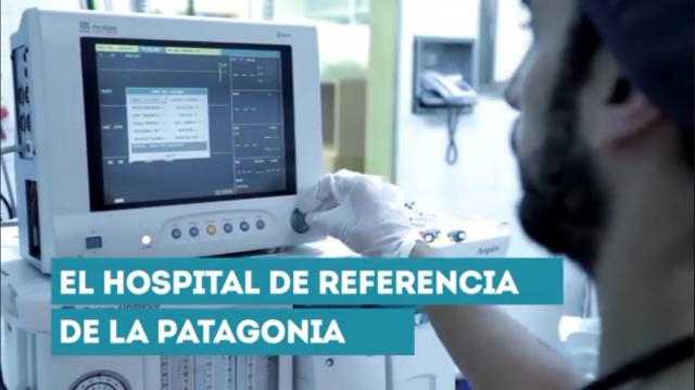 El Hospital Provincial Neuquén presenta desafíos polivalentes: desde neonatos hasta adultos mayores.