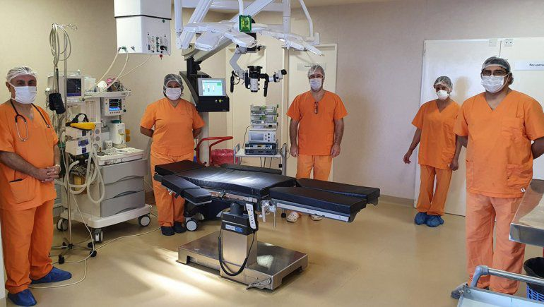 Primera cirugía de tumor cerebral a paciente despierto de la Patagonia