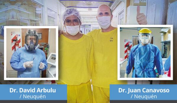 Anestesiólogos de ANAAR colaboraron con el área de terapia intensiva frente a la pandemia
